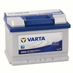 VARTA  Blue dynamic-60Ач (D59)  60А/ч  540А