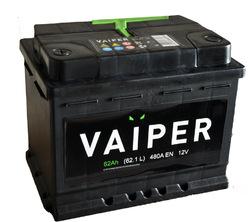 Аккумулятор автомобильный VAIPER 62ah 6СТ-62.1-L